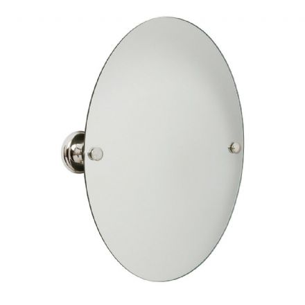 Croydex Grosvenor Chrome Flexi-Fix Mirror